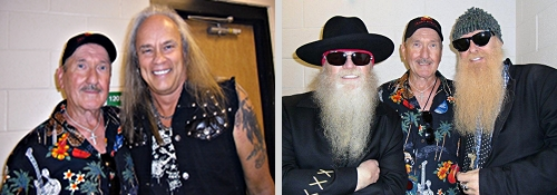 Rickey Medlocke, Dusty Hill, Billy Gibbons